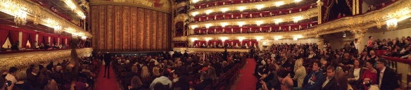 The McCloy Family kindly invited me to watch 'Turandot' (opera) at the Bolshoi Theatre. Aka I am supremely cultured now.